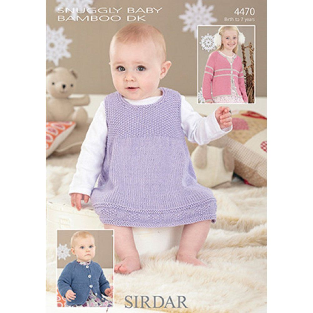 Sirdar snuggly baby bamboo dk pinafore and cardigans knitting cardigans pinafore in sirdar snuggly baby bamboo dk discover more patterns by sirdar snuggly at loveknitting we stock patterns yarn needles and books bankloansurffo Image collections