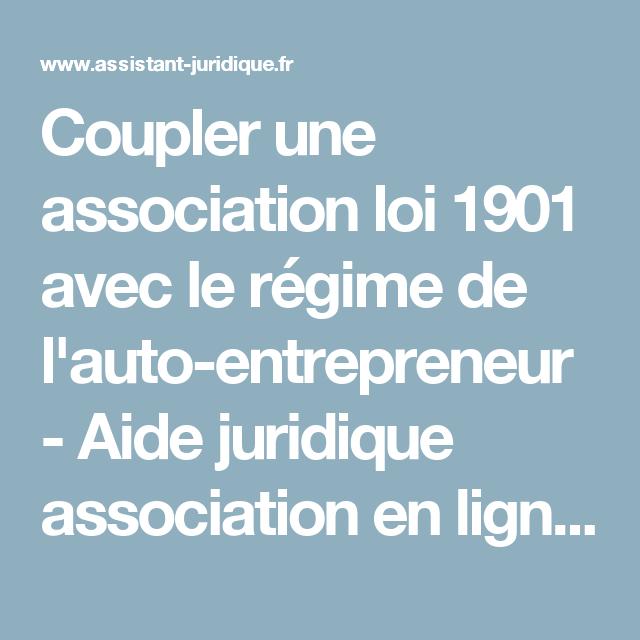 Coupler Une Association Loi 1901 Avec Le Regime De L Auto