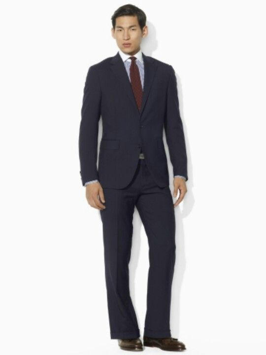 Polo Ralph Lauren Two-Button Navy Suit Price: $1495.00 Style #13233031