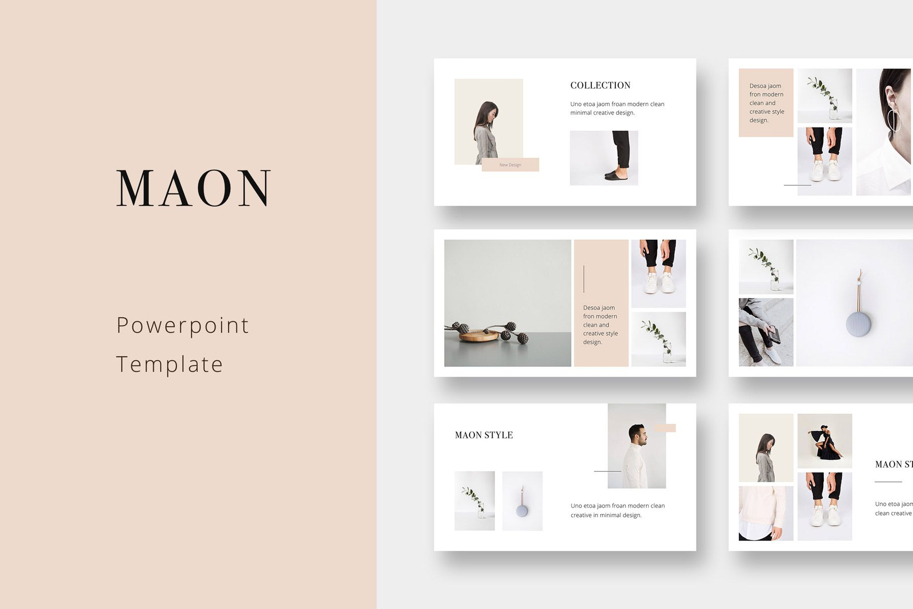 Maon Powerpoint Template 75343 Simple Powerpoint Templates Powerpoint Presentation Templates Presentation Slides Templates