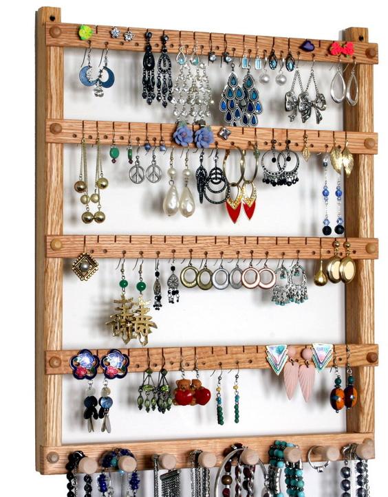 earringjewelry holder crafts Pinterest Jewellery holder