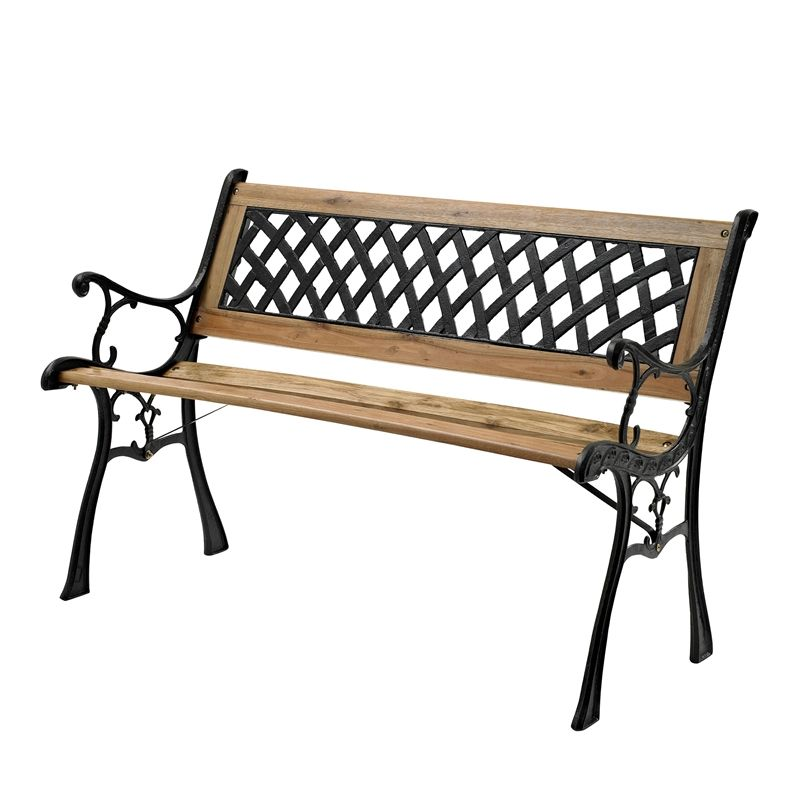 Find Mimosa Cast Iron Back Timber Bench at Bunnings Warehouse. Visit ...