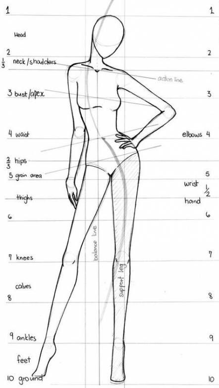 New Drawing Figure Sketch Fashion Illustrations 37 Ideas