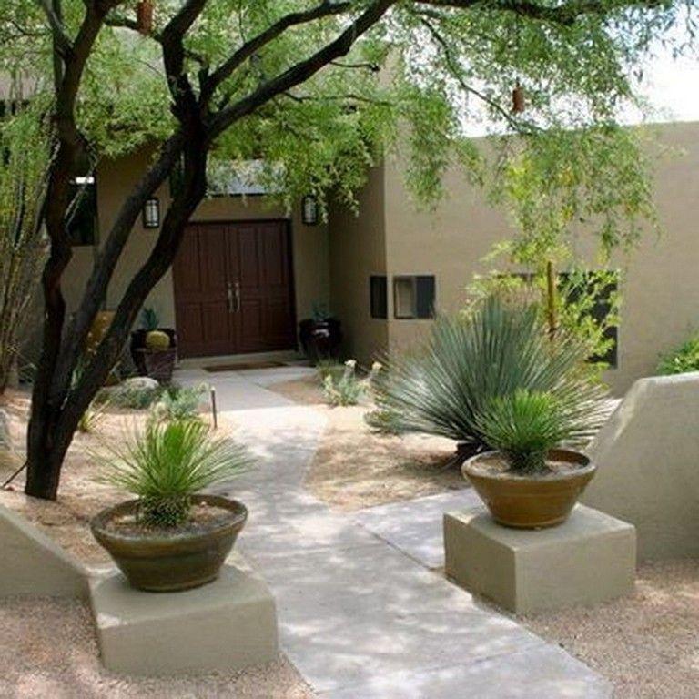 55+ Incredible Desert Garden Landscaping Ideas for Home Yard #garden ...