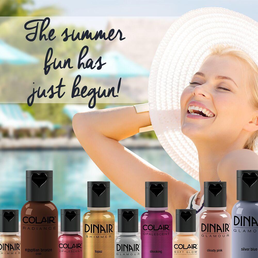 Summer fun begins with 35 off all Dinair bottled makeup