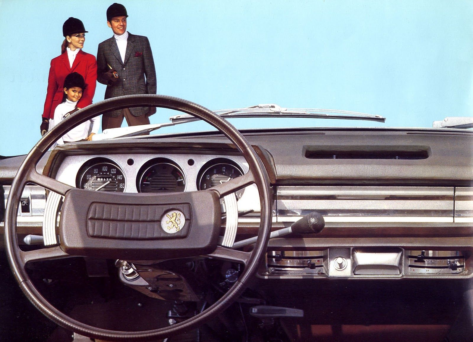 Old Cars Canada: 1969 Peugeot 504 Dash | Iconic Egyptian Cars ...