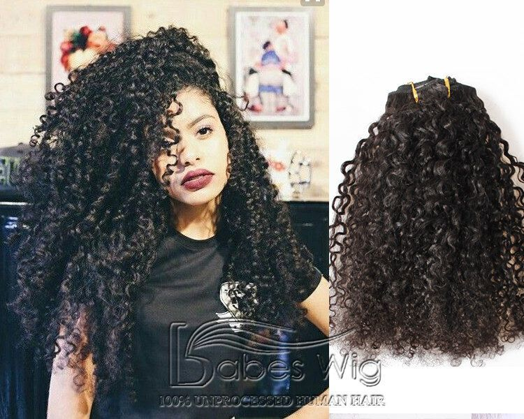 Cheap Remy Human Hair Curly Clip In Hair Extensions Uk Brazilian