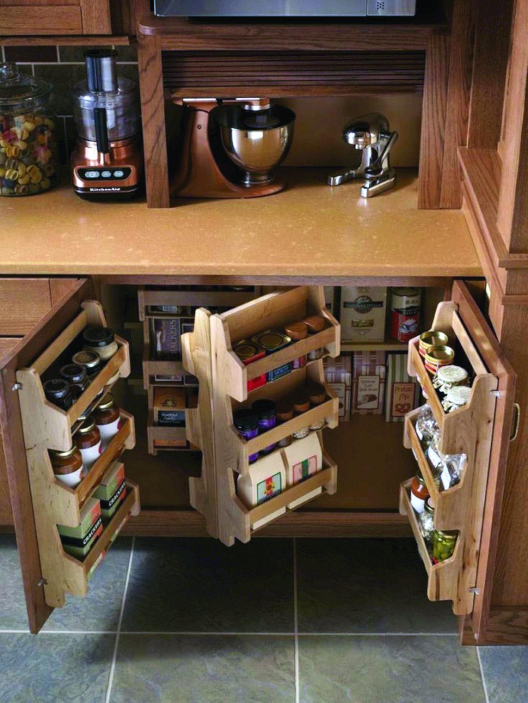 The Most Popular Kitchen Storage Ideas On Houzz Homes Tre Diy