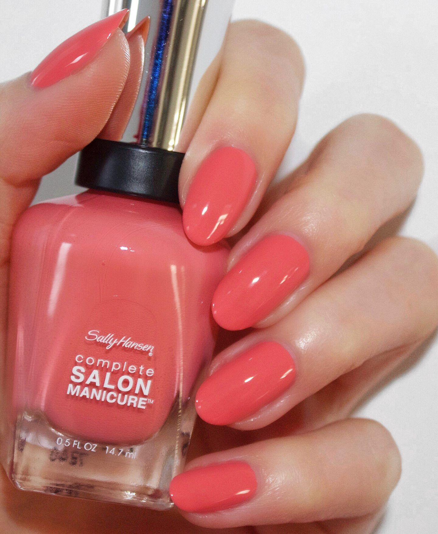 One In A Melon In 2019 Nails At Home Gel Nails Gel Nails