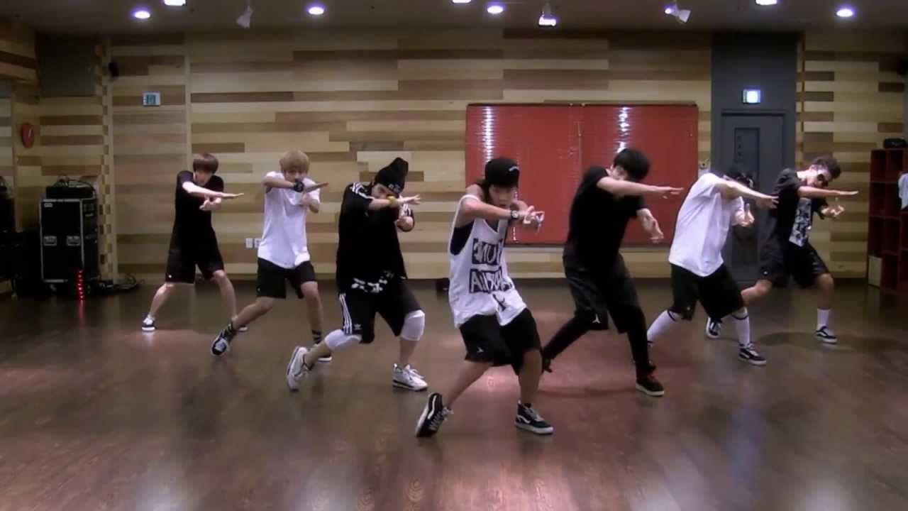 BTS - We Are Bulletproof Pt  2 mirrored dance practice