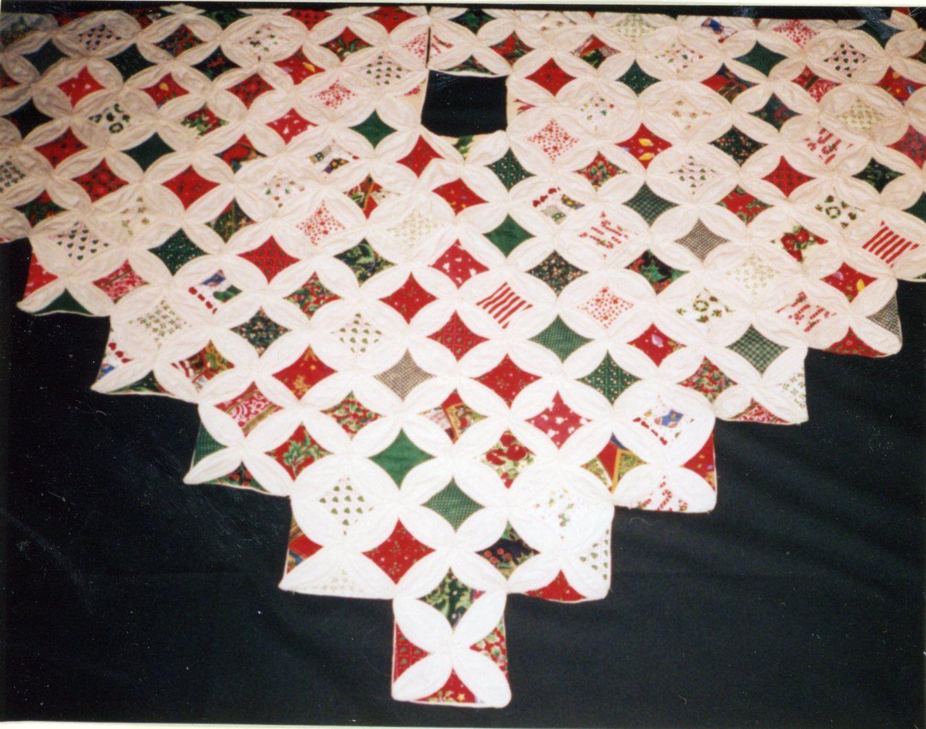 Christmas Tree Skirt Quilt Patterns Cool Inspiration Ideas