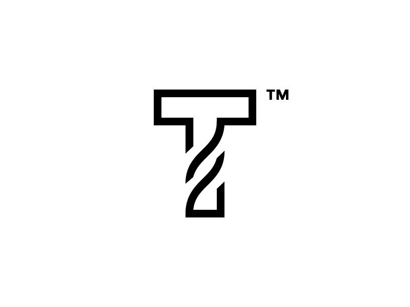 T Time Graphic Design Logo Letter Logo Design Typography Logo