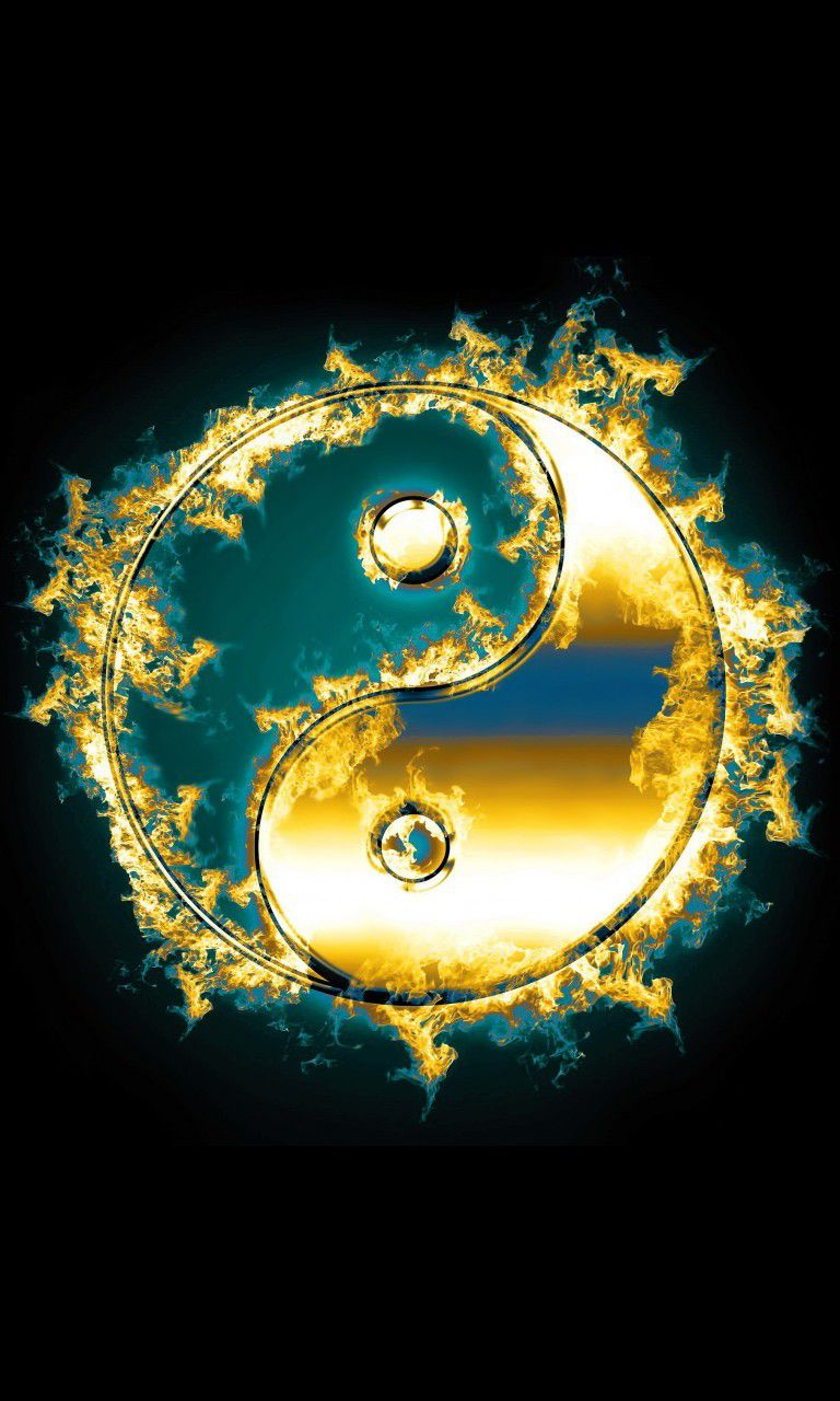 yin yang wallpaper iphone 6  Google Search  Yin_Yang balance  Yin yang, Yin yang art, Ying