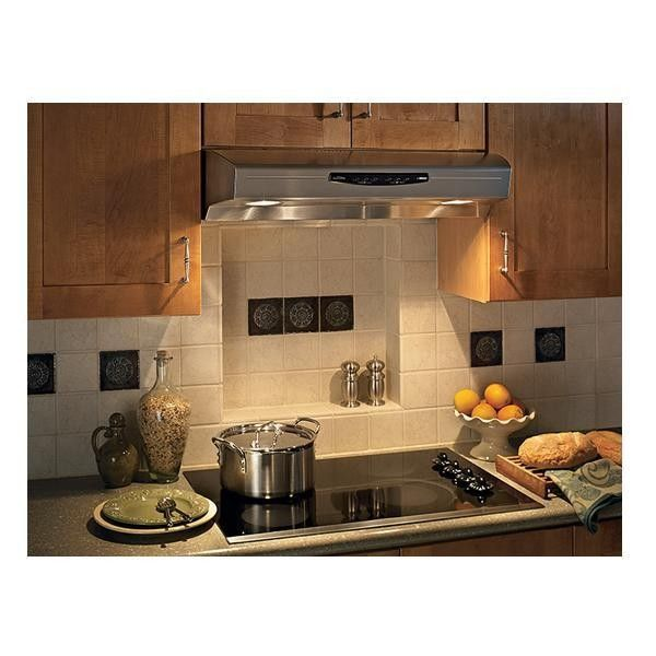 Broan 30 Stainless Steel Under Cabinet Hood 300 Cfm Qs230ss Conn S Range Hood Under Cabinet Range Hoods Broan