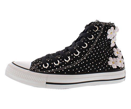 Converse Womens Chuck Taylor All Star Floral Polka Dot