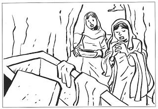 Distintos Momentos De La Semana Santa Con Imagenes Dibujos Dibujos Para Colorear Resurreccion De Jesus