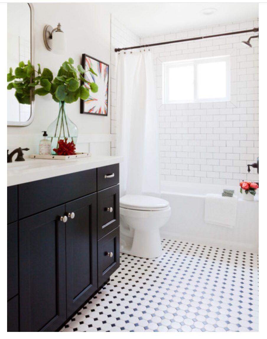shower rod matches vanity | Bathroom Remodel | Pinterest | Shower ...