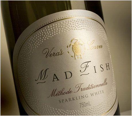 MadFish wine label design | Wine Packaging | Pinterest | Packaging ...