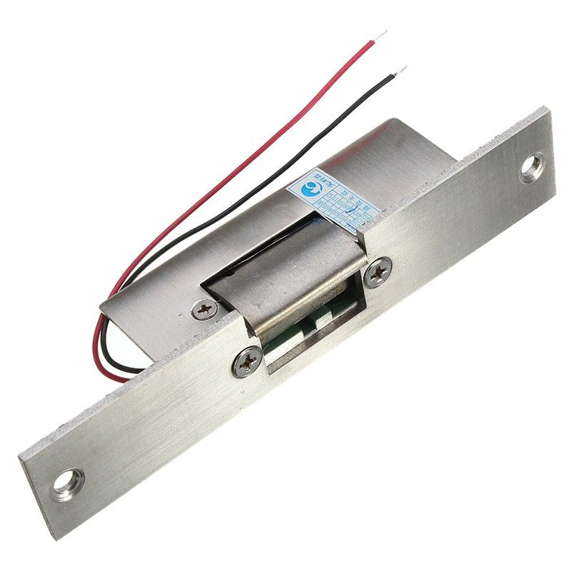 Stainless Door 12v Dc Fail Safe No Narrow Type Door Electric Strike Lock For Access Control Power Locks Security Safe Access Control Safe Electricity Safe Lock