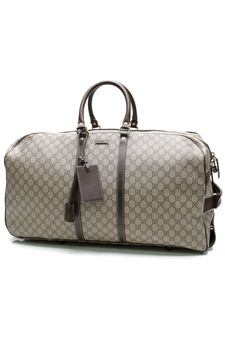 eb729bb4be4d Gucci GG Canvas Rolling Duffel Travel Luggage