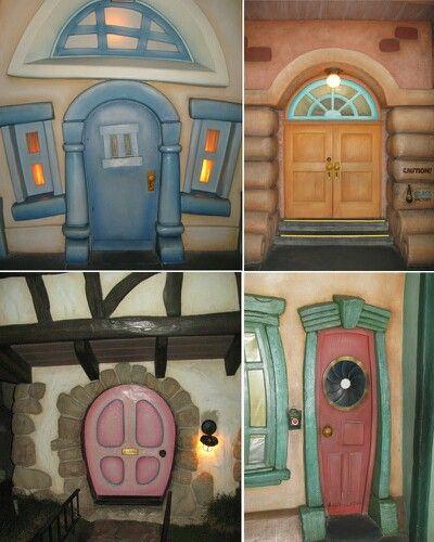 Disney Doors ) & Disney Doors :) | Dream home room ideas | Pinterest | Doors
