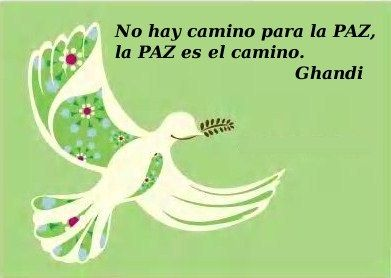 Mensajes De Paz De Gandhi Paz Interior Frases Frases De