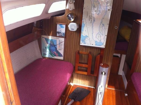Py 23 Paceship Sailboat Sailboat Interior Small Sailboats Sailing Yacht