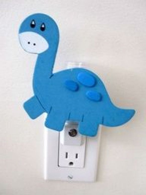 Dinosaur Night Light  Baby room nursery animal #dinosaurnursery