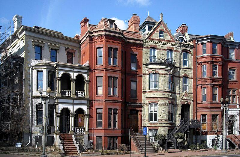 Row Houses on Logan Circle, Washington, DC House