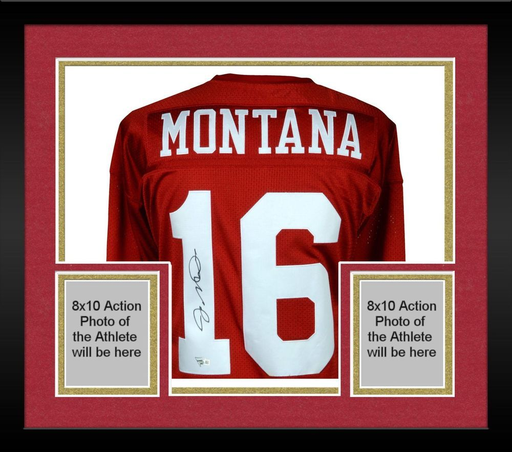 cbb03dff2 Autographed Joe Montana 49ers Jersey Fanatics Authentic COA Item 9117360  Football Jerseys
