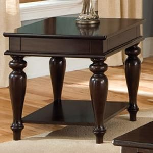 Java End Table In Walnut Nebraska Furniture Mart