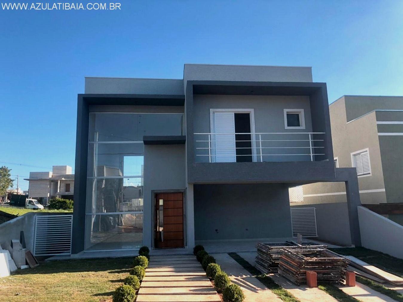 Casa nova a venda, Atibaia Park portaria, rondas, área de