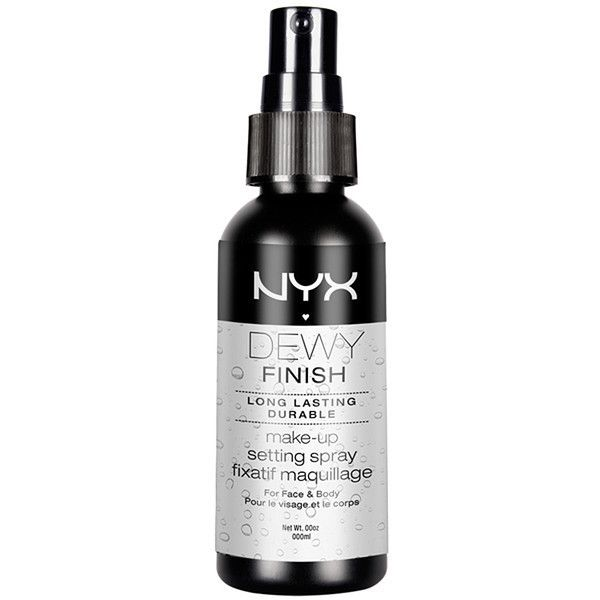NYX Make Up Setting Spray Dew Finish Target Australia (£7.26) ❤ liked on Polyvore featuring beauty products, makeup, face makeup, nyx, nyx makeup, spray makeup, nyx cosmetics and matte makeup