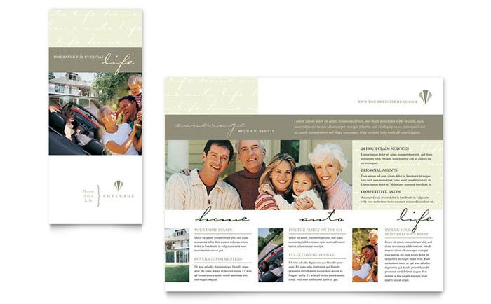 Home Remodeling  Tri Fold Brochure Template Design Sample