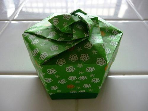 ハート 折り紙 折り紙箱六角形作り方 : pinterest.com