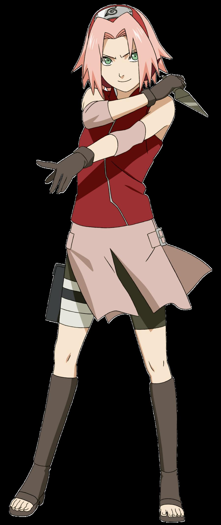 4426_sakura_haruno.jpg (900×2138) Personagens naruto