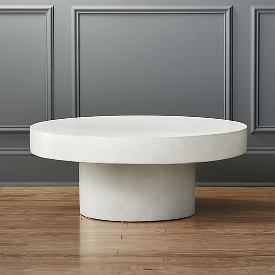 12 Round Coffee Tables We Love Coffee Table Coffee Table White Round Coffee Table
