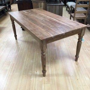 Farm Dining Table In 2019 Farm House Table Farm Dining Table
