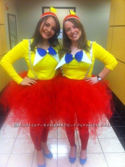 Cutest Tweedle Dee and Tweedle Dum Couple Halloween Costumes