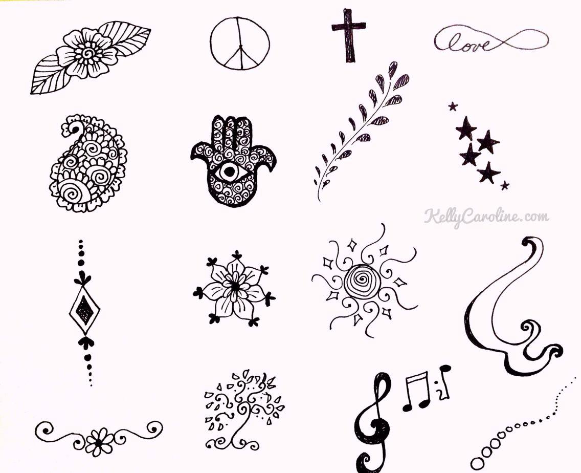 Pretty And Cute Beginner Henna Designs Small Henna Designs Henna Design Printable