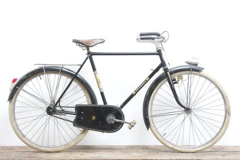 Peugeot Vintage French Porteur Bicycle With Images Bicycle