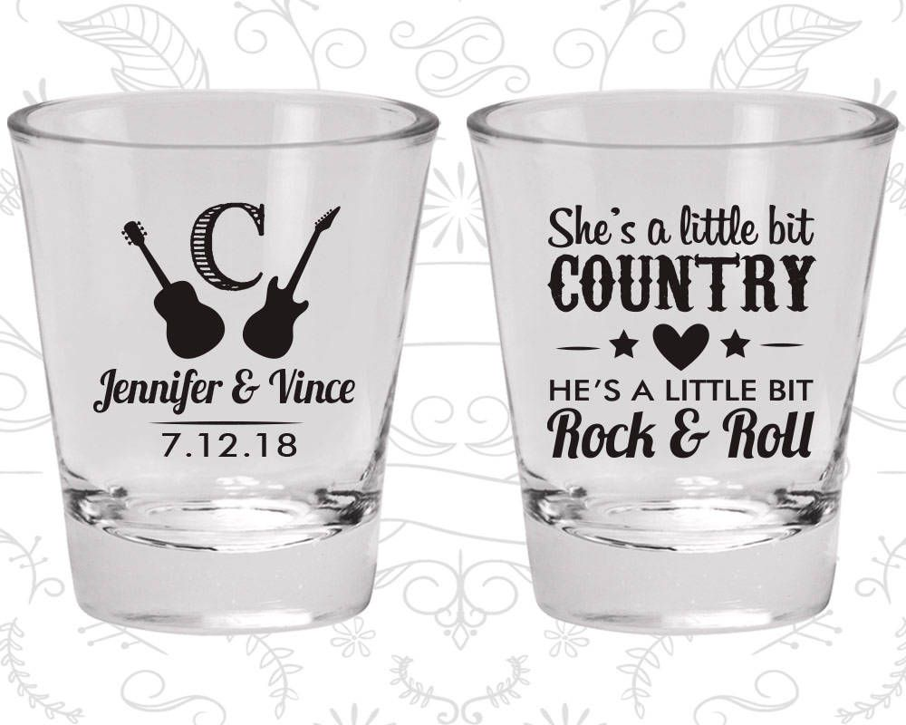 Personalized Shot Glasses, Wedding Shot Glasses, Shot Glasses, Shot ...