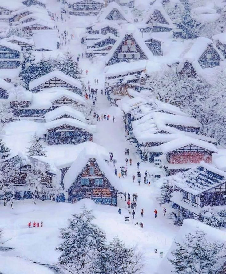 Nine Romantic places for winter holidays