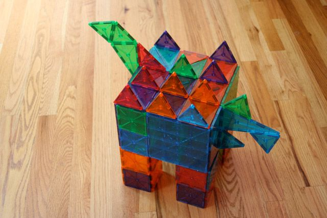 Ideas For Building With Magna Tiles Challenge Magna Tects To Copy The Magna Tiles Creation Or Use The Pictu Magna Tiles Magnetic Building Tiles Magnetic Tiles