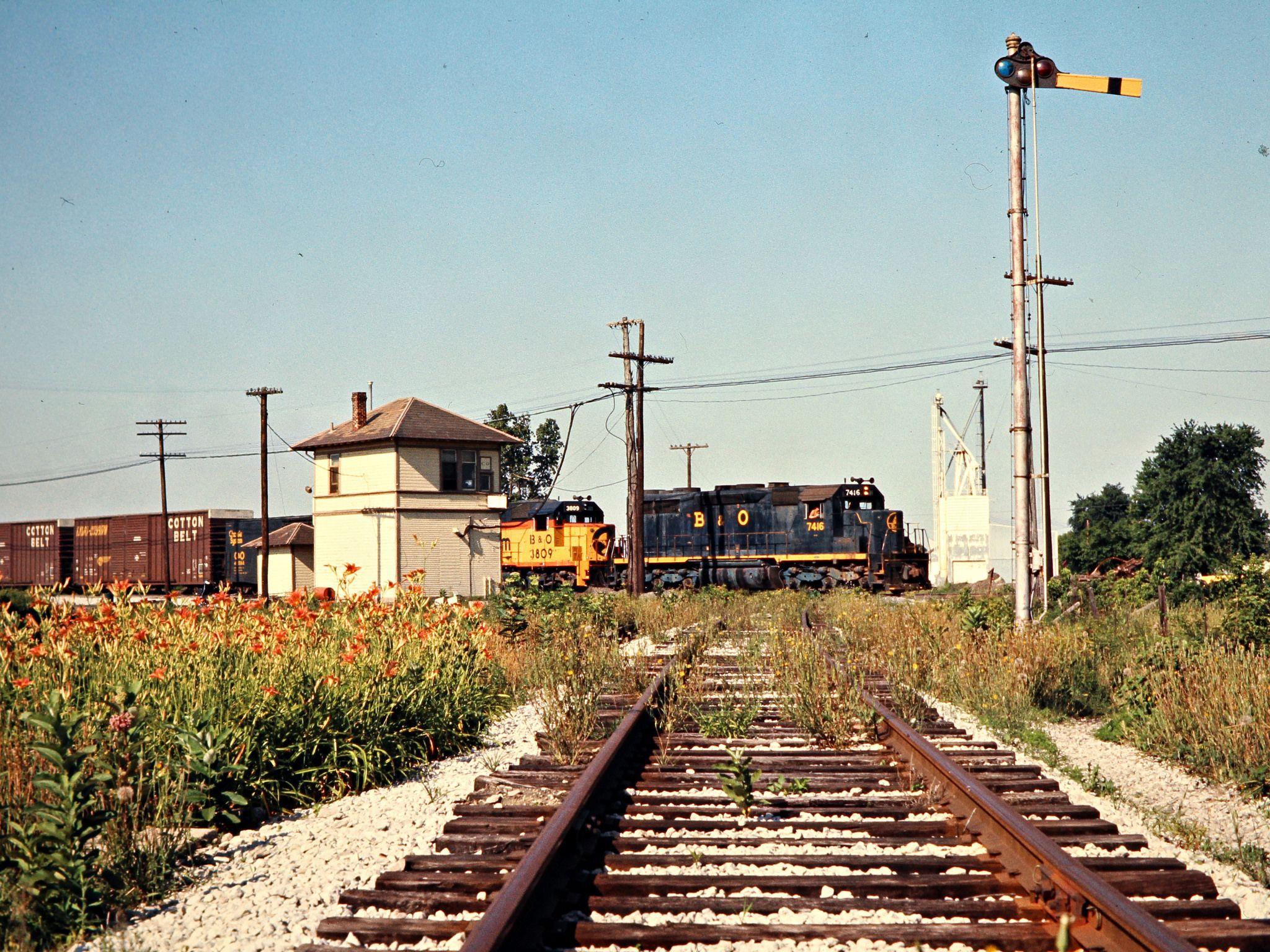 b o columbus grove ohio 1977 rail pinterest ohio rail train and train tracks. Black Bedroom Furniture Sets. Home Design Ideas