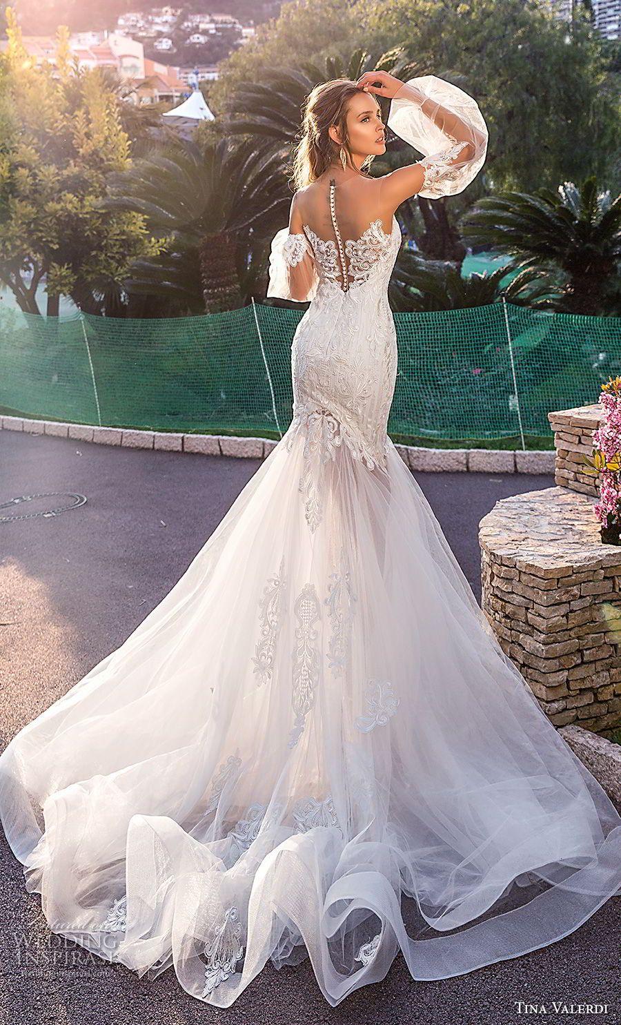Lace t shirt wedding dress november 2018 Tina Valerdi  Wedding Dresses u ucIum Yoursud Bridal Collection