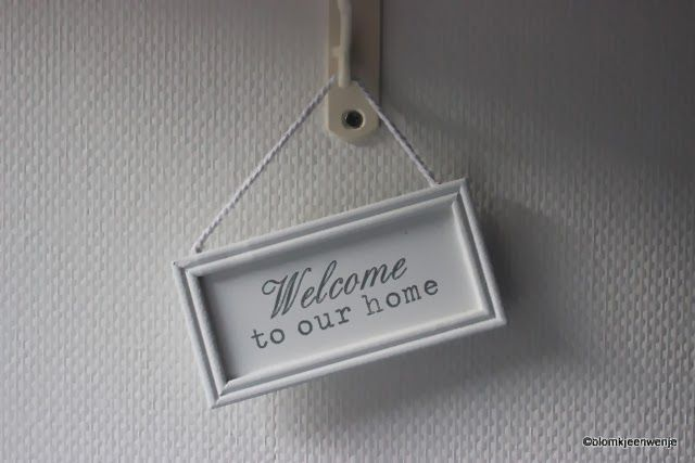 Blomkje en Wenje: Welcome to our home