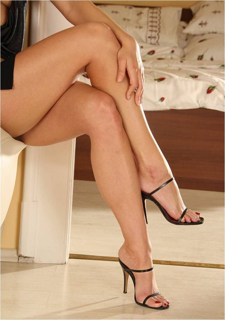 Pin On Sexy High Heels  Feet In The Bedroom