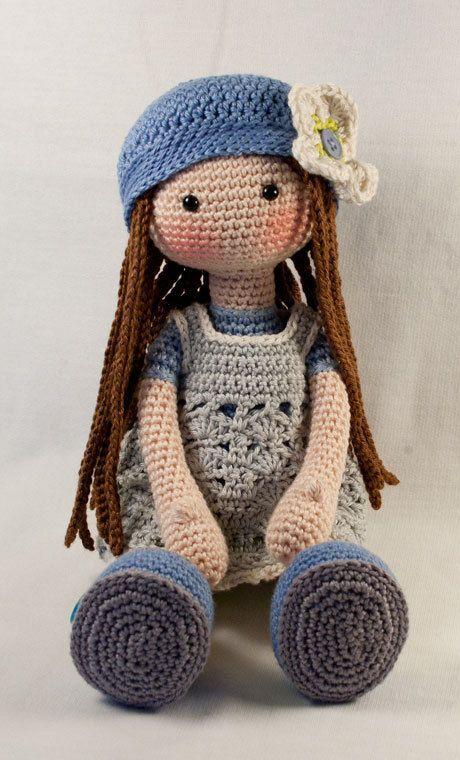 Crochet pattern for doll LILLY (Deutsch, English, French, Nederlands ...