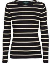 Lauren Ralph Lauren Gacy stribet bluse